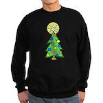 ILY Christmas Tree Sweatshirt (dark)