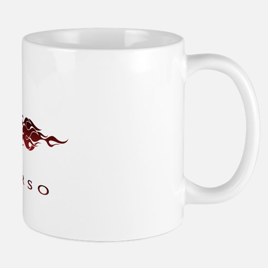 Cane Corso Flames Mug