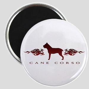 Cane Corso Flames Magnet