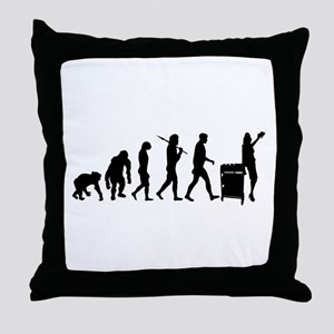 Library Librarian Throw Pillow