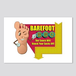 Barefoot BBQ Postcards (Package of 8)