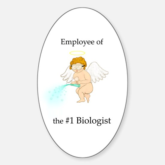 Employee of the #1 Biologist Oval Decal