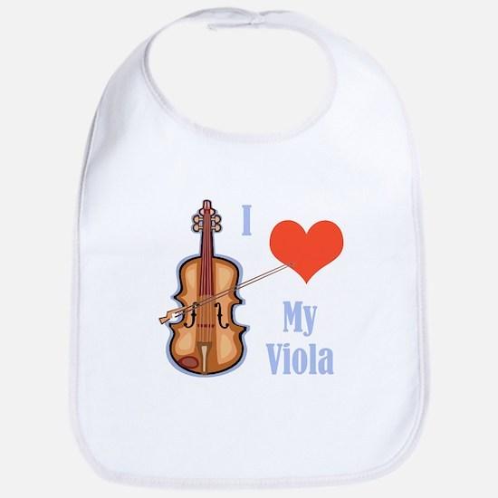 I Love My Viola Bib