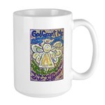 Serenity Prayer Angel Large Mug