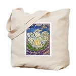 Serenity Prayer Angel Tote Bag