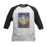 Serenity Prayer Angel Kids Baseball Jersey