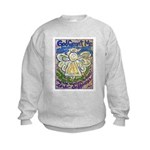 Serenity Prayer Angel Kids Sweatshirt