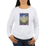 Serenity Prayer Angel Women's Long Sleeve T-Shirt