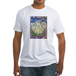 Serenity Prayer Angel Fitted T-Shirt
