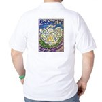Serenity Prayer Angel Golf Shirt