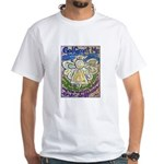 Serenity Prayer Angel White T-Shirt