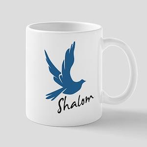 Shalom - Dove Mug