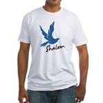 Shalom - Dove Fitted T-Shirt