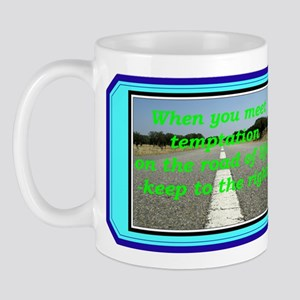 """Meeting Temptation"" Mug"