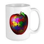 Puzzle Apple Large Mug