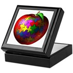 Puzzle Apple Keepsake Box