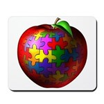 Puzzle Apple Mousepad