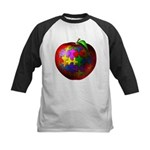 Puzzle Apple Kids Baseball Jersey