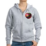 Puzzle Apple Women's Zip Hoodie