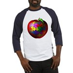 Puzzle Apple Baseball Jersey