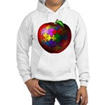 Puzzle Apple Hooded Sweatshirt