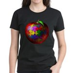 Puzzle Apple Women's Dark T-Shirt