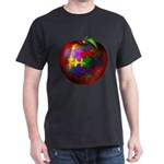 Puzzle Apple Dark T-Shirt