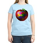 Puzzle Apple Women's Light T-Shirt