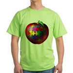 Puzzle Apple Green T-Shirt