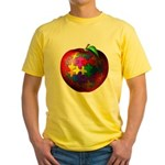 Puzzle Apple Yellow T-Shirt