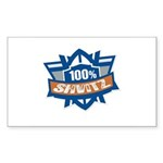 Shvitz Rectangle Sticker 50 pk)