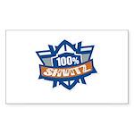 Shvitz Rectangle Sticker 10 pk)