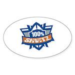 Shvitz Oval Sticker (10 pk)