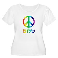 Shalom - Peace Sign T-Shirt