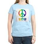 Shalom - Peace Sign Women's Light T-Shirt