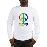 Shalom - Peace Sign Long Sleeve T-Shirt