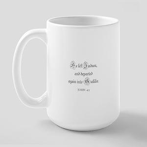 JOHN  4:3 Large Mug