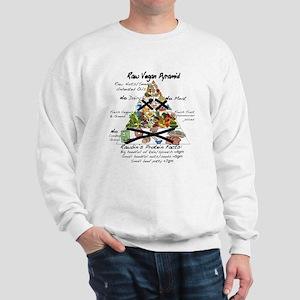 Raw Vegan Pyramid Sweatshirt