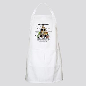 Raw Vegan Pyramid BBQ Apron