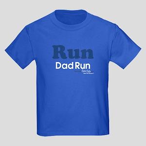 Run Dad Run Kids Dark T-Shirt