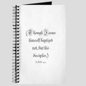 JOHN 4:2 Journal