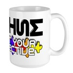 Adjust Your Perspective Large Mug