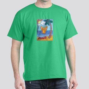 California Beach Angel Dark T-Shirt