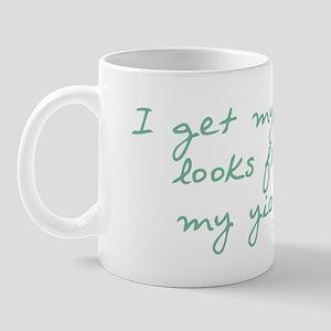 Get my Looks from YiaYia Mug
