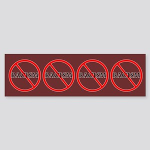 No Racism Bumper Sticker