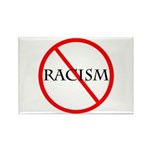No Racism Rectangle Magnet (10 pack)