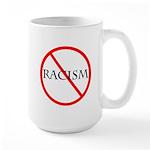 No Racism Large Mug