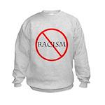 No Racism Kids Sweatshirt