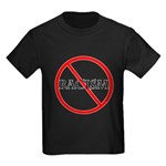 No Racism Kids Dark T-Shirt