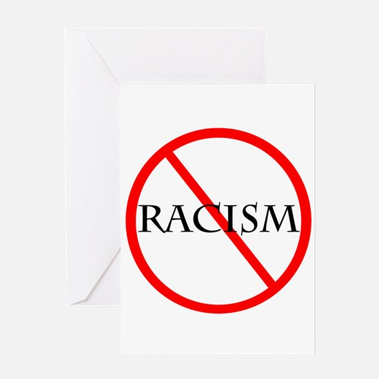 No Racism Greeting Card